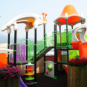 What are the outdoor amusement facilities?