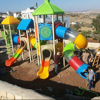 Wooden outdoor play equipment customization