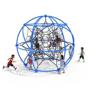 Round Customized Climbing Net for Outdoor Playground